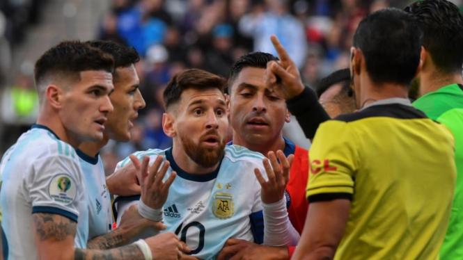 Kapten Timnas Argentina, Lionel Messi