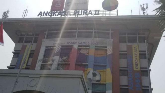 Gedung 600 Angkasa Pura II, Pusat Perkantoran Soekarno Hatta, Tangerang.