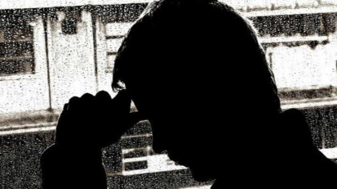 Ilustrasi depresi.
