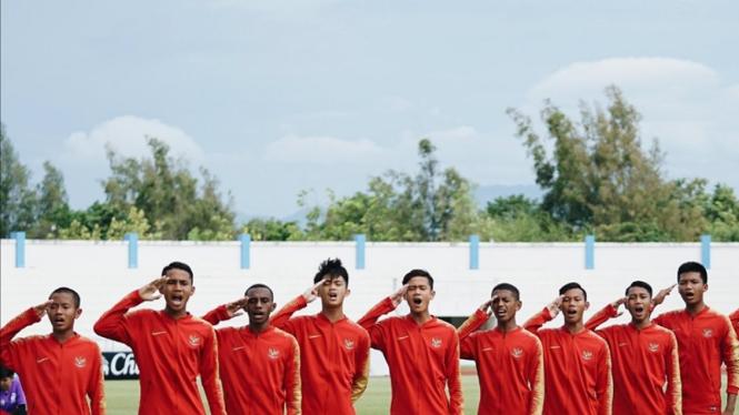 Pemain Timnas Indonesia U-15 di Piala AFF U-15 2019