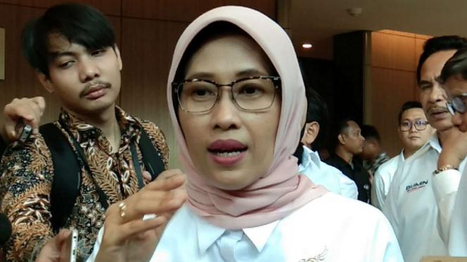 Pelaksana Tugas (Plt) Direktur Utama PT PLN, Sripeni Inten Cahyani.