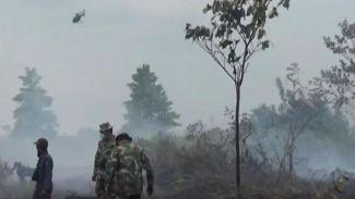 Kabut Asab dari Karhutla Jambi