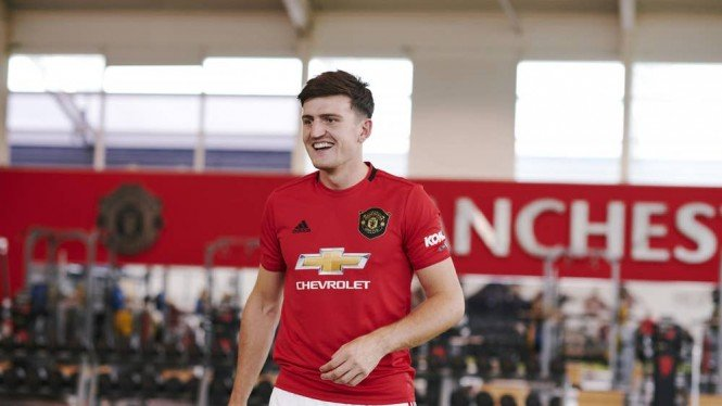 Bek anyar Manchester United, Harry Maguire