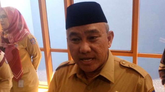Wali Kota Depok, Mohammad Idris, di Depok, Selasa, 6 Agustus 2019.