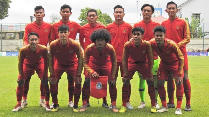 Skuat Timnas Indonesia U-18.