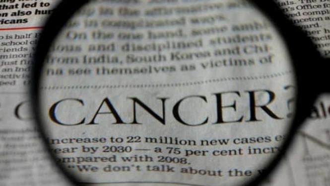 Ilustrasi penyakit kanker.
