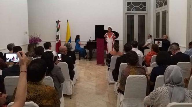 Konser mini pianis Meksiko dan sopranis Kolombia di Jakarta