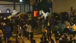 Unjuk rasa kian memanas di Hongkong, 6 Agustus 2019