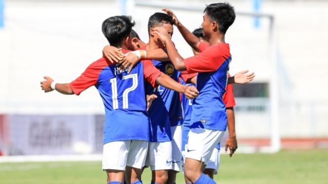 Pemain Timnas Malaysia U-15 di Piala AFF