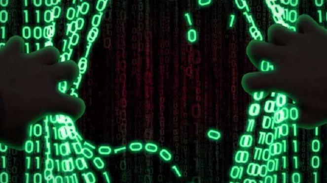 Ilustrasi kejahatan siber