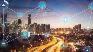 Ilustrasi smart city.