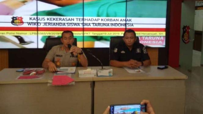 Kepala Polresta Palembang, Kombes Pol Didi Hayamasyah.