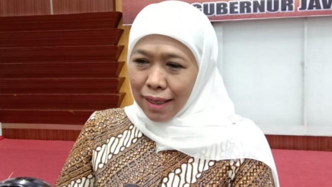 Gubernur Jawa Timur, Khofifah.
