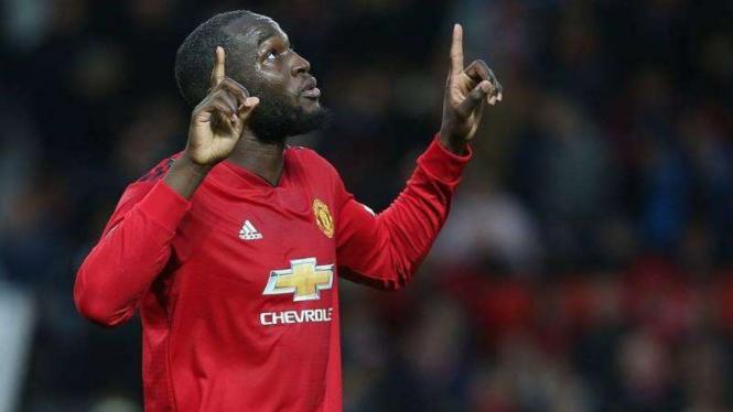 Romelu Lukaku saat masih membela Manchester United
