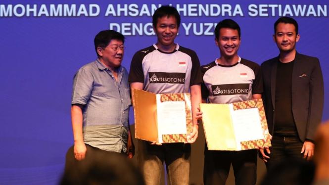 Ganda putra Indonesia, Hendra Setiawan/Mohammad Ahsan