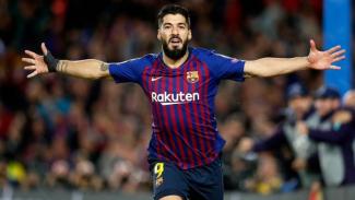 Striker Barcelona, Luis Suarez
