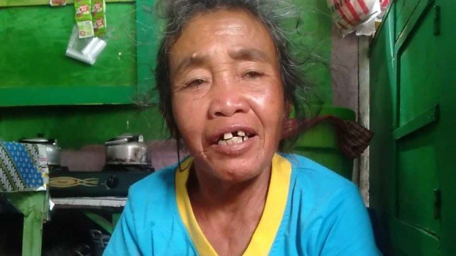 Nenek Sahnun yang berkurban sapi seharga Rp10 juta.
