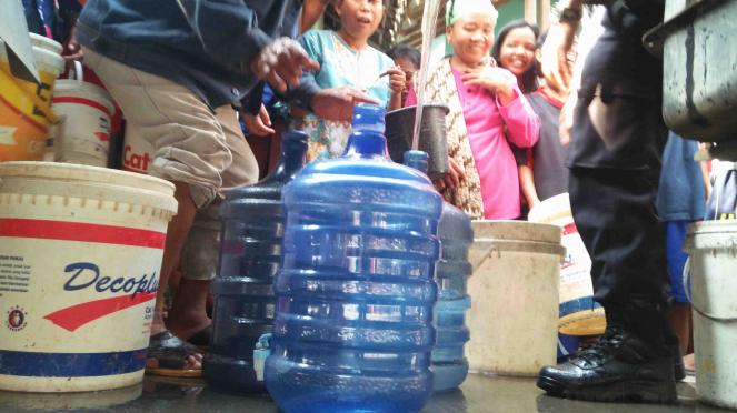 Warga Banten kekeringan