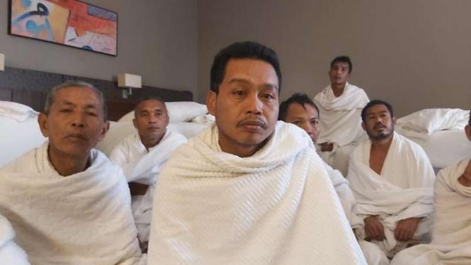 Syairi, jemaah asal Lombok yang melaksanakan haji ifrad