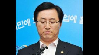 Menteri Ekonomi Pengetahuan Korsel Choi Joong-kyung mundur dari jabatannya setelah krisis pemadaman listrik di Korsel pada 15 September 2011.