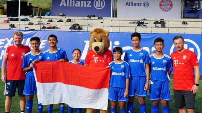 Anak Indonesia ke Bayern Munich
