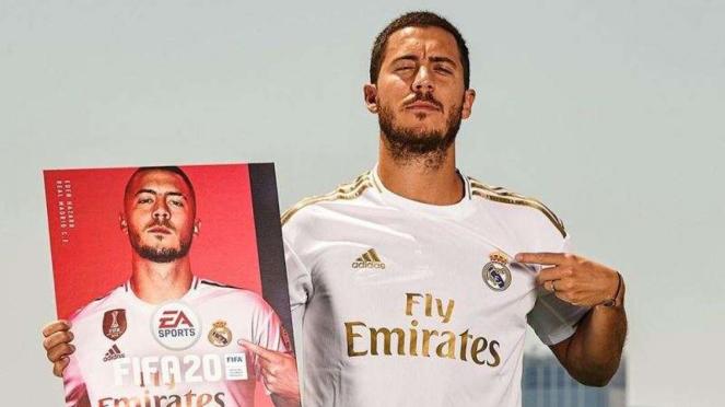Megabintang Real Madrid, Eden Hazard