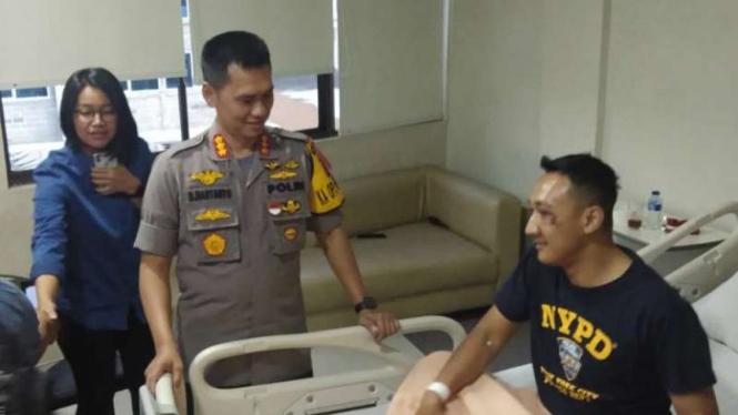 Kapolsek di Sumut Bonyok Digebuki Bandar Narkoba, Pelaku Mati Ditembak