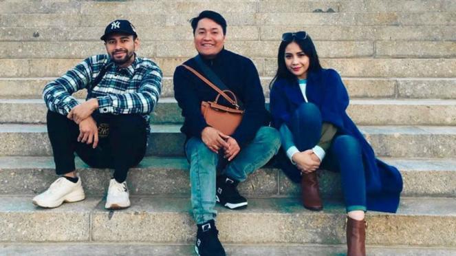 Raffi Ahmad, Merry (asisten) dan Nagita Slavina