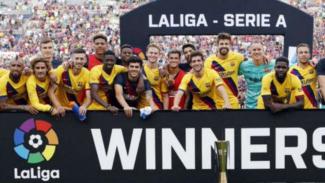 Barcelona juara LaLiga Serie A Cup