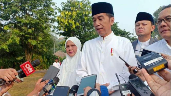 Presiden Jokowi pesan Idul Adha 2019