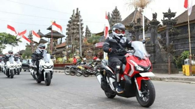 World Premiere Riding Experience Honda ADV 150  di Bali