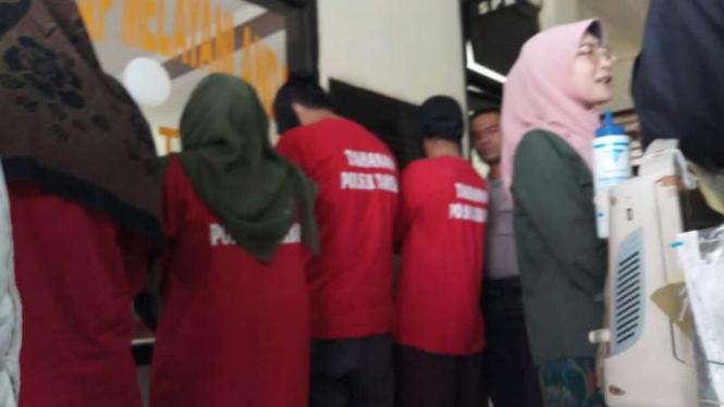 Polisi gerebek klinik aborsi, sejumlah orang diamankan