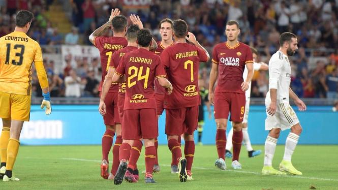 AS Roma taklukkan Real Madrid