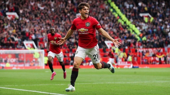 Gelandang Manchester United, Daniel James