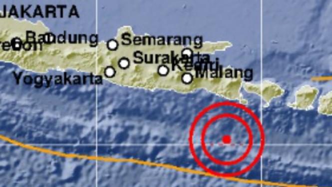Gempa Bali 5,0 SR Senin, 12 Agustus 2019