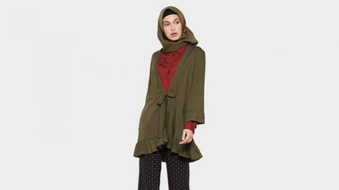 Gaya hijab Bohemian