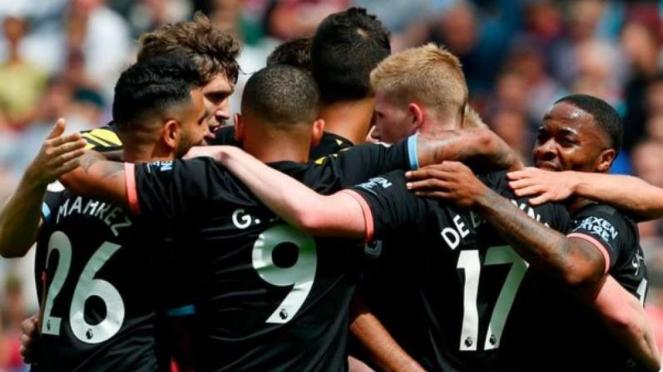 Para pemain Manchester City.