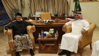 Menteri Agama, Lukman Hakim Saifuddin bertemu Menteri Haji dan Umrah Arab Saudi