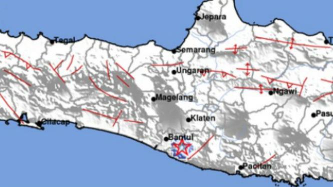 Gempa 3 SR di Gunung Kidul, Senin 12 Agustus 2019