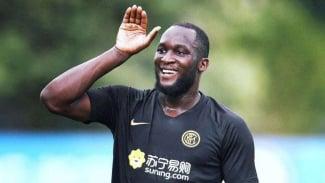 Penyerang Inter Milan, Romelu Lukaku