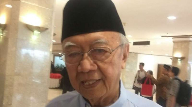 Ulama Salahuddin Wahid yang akrab disapa Gus Solah.
