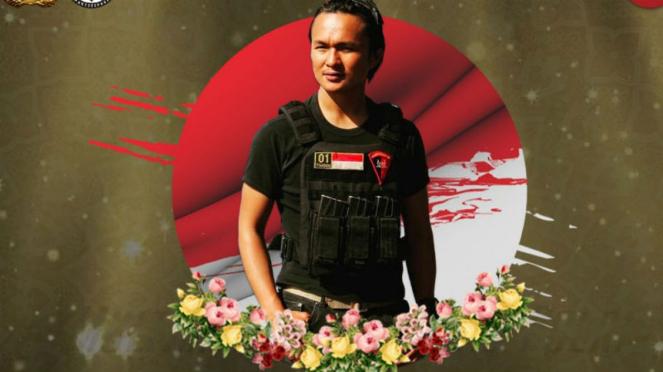 Briptu Hedar yang ditembak mati di Papua