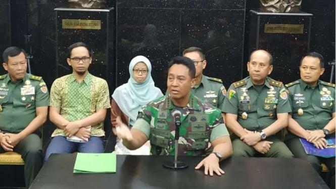 Kepala Staf TNI Angkatan Darat (KSAD) Jenderal Andika Perkasa.