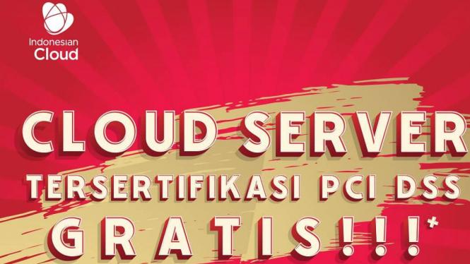 Indonesian Cloud beri kado HUT RI ke-74