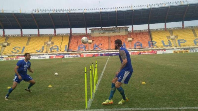 Latihan Persib Bandung