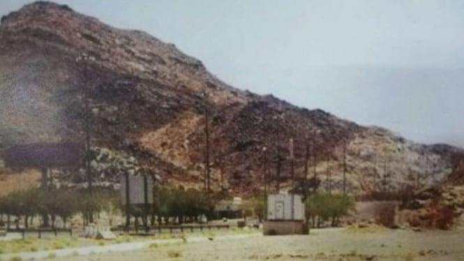 Lembah Muhassir, Arab Saudi.