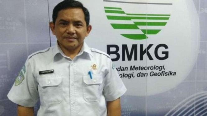 Kepala Bidang Mitigasi Gempabumi dan Tsunami BMKG, Dr. Daryono.