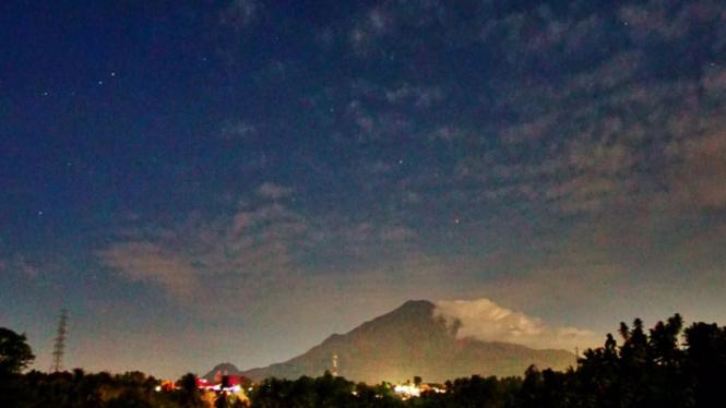 Pengamatan hujan meteor Perseid di Klabat, Sulawesi Utara
