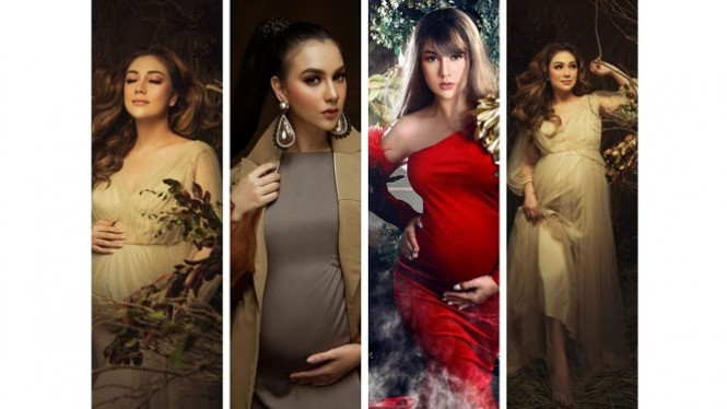 Selebriti maternity shoot