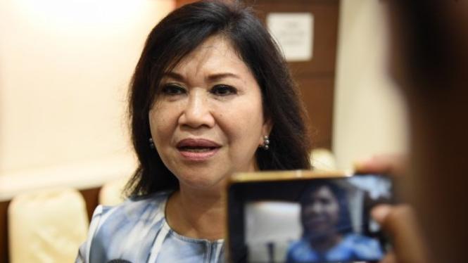 Anggota Komisi I DPR RI Evita Nursanty.